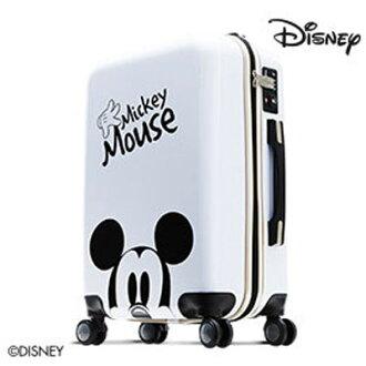 【加賀皮件】Deseno Disney 迪士尼 米妮 米奇奇幻旅程 28吋 PC鏡面 多色 拉鍊箱 旅行箱 行李箱 CL300