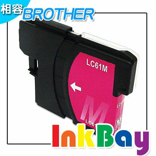 BROTHER  LC61M (紅色)相容高容量墨水匣 /適用機型:BROTHER MFC-255CW/DCP-165C/MFC-290C