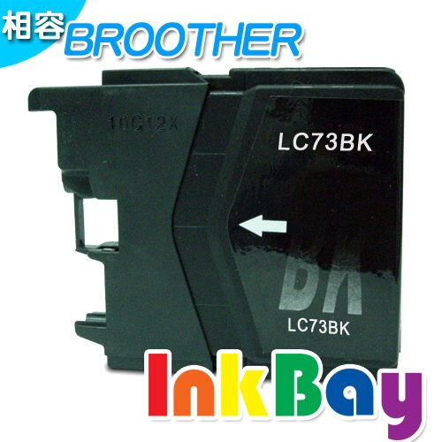 BROTHER LC-77BK 黑色 相容墨水匣   :BROTHER MFC-J430W