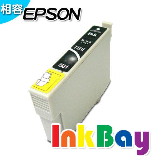 EPSON T1331相容墨水匣^(黑色^)   :EPSON Stylus T22  T