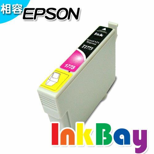 EPSON T1773 相容墨水匣^(紅色^)  :EPSON XP~30 XP~102