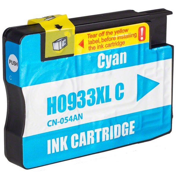 HP 933XL CN054AA (藍色) 相容墨水匣 /適用機型:HP OFFICEJET 6100/6600/6700/7610