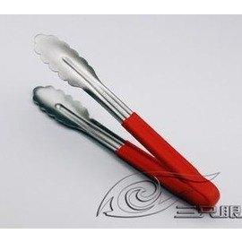 FL-不銹鋼膠柄荷夾 麵包夾 食品夾 烘焙工具 沙律夾 10寸-7201005