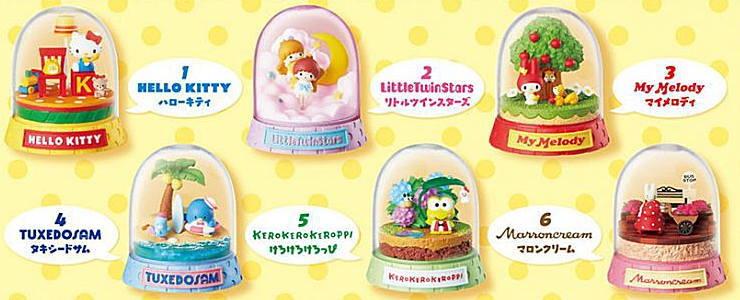 大賀屋 日貨 hello kitty 盒玩 裝飾品 家居 裝飾 玩具 日式雜貨 公仔 兒童玩具 正版 J00030725