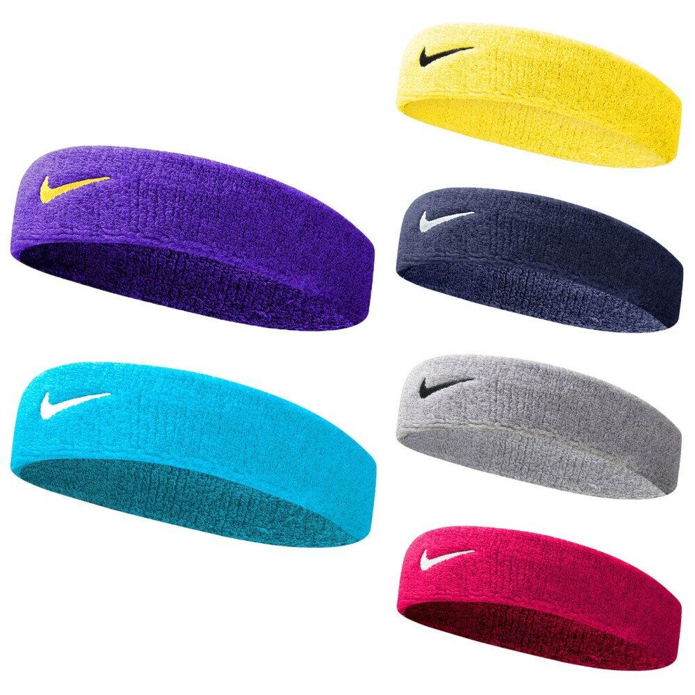 NIKE Swoosh單色頭帶 (一只入 慢跑 路跑 訓練 網球 籃球【98230054】≡排汗專家≡