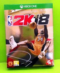 [現金價] XBOXONE 勁爆美國職籃 2K18 ONE NBA 2K18 NBA2K18 中文版 黃金傳奇珍藏版+護腕