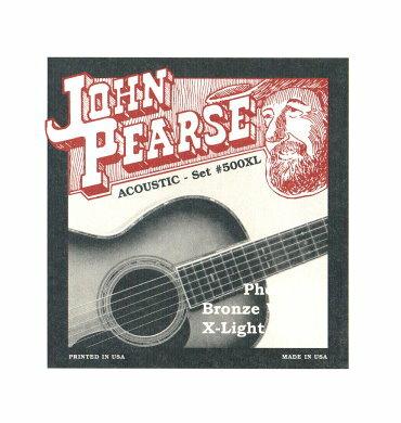 烏克時代~ John Pearse 美製民謠吉他弦 磷青銅 500XL (10-47)