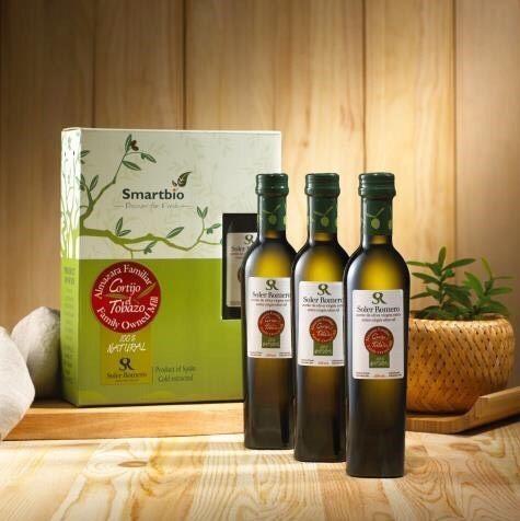 智慧有機體 西班牙莎蘿瑪冷壓初榨橄欖油 250ml*3 禮盒組