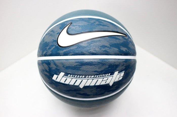 NIKE DOMINATE 籃球 戶外 7號 墨綠【運動世界】BB0361-399