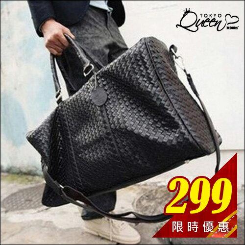.現貨販售.東京靚包.【AAB7024】歐美明星愛用編織旅行袋. 0