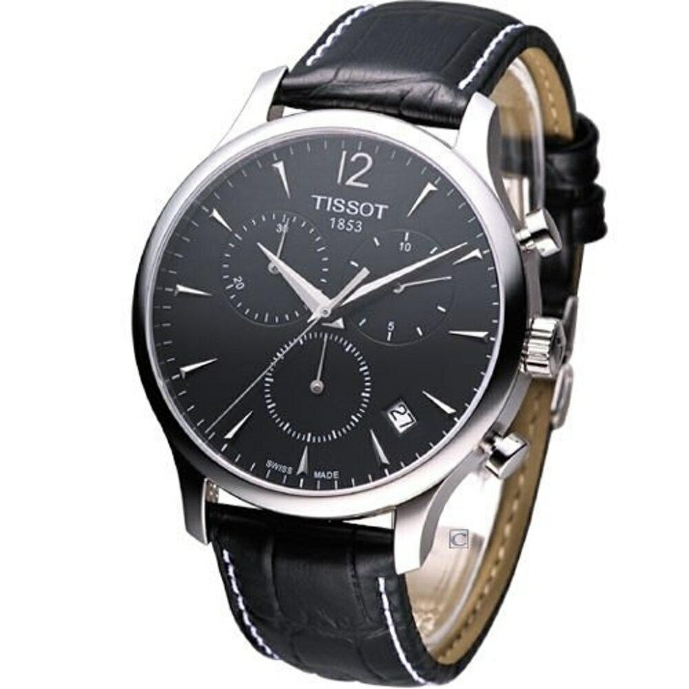 T0636171605700 天梭錶 TISSOT T-TRADITION 極簡雅士 計時腕錶 0