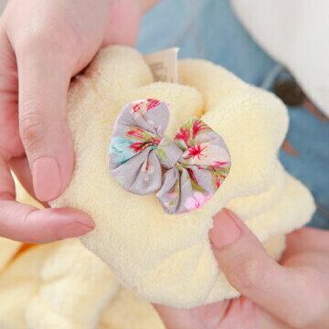珊瑚絨吸水包頭巾 / 兩色可選  x1 3