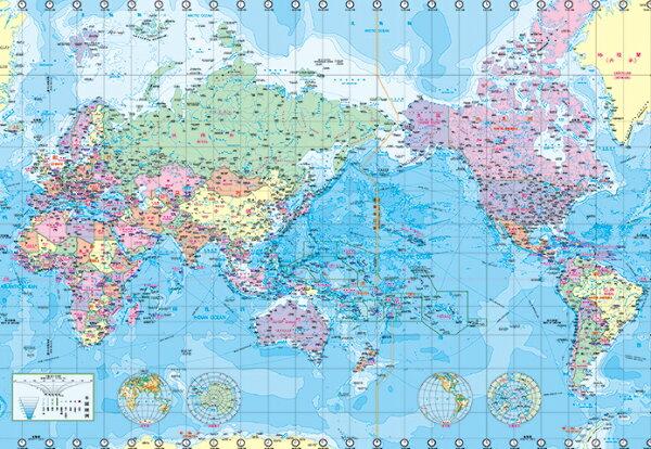 P2拼圖網:204片達人拼圖世界地圖WorldMap