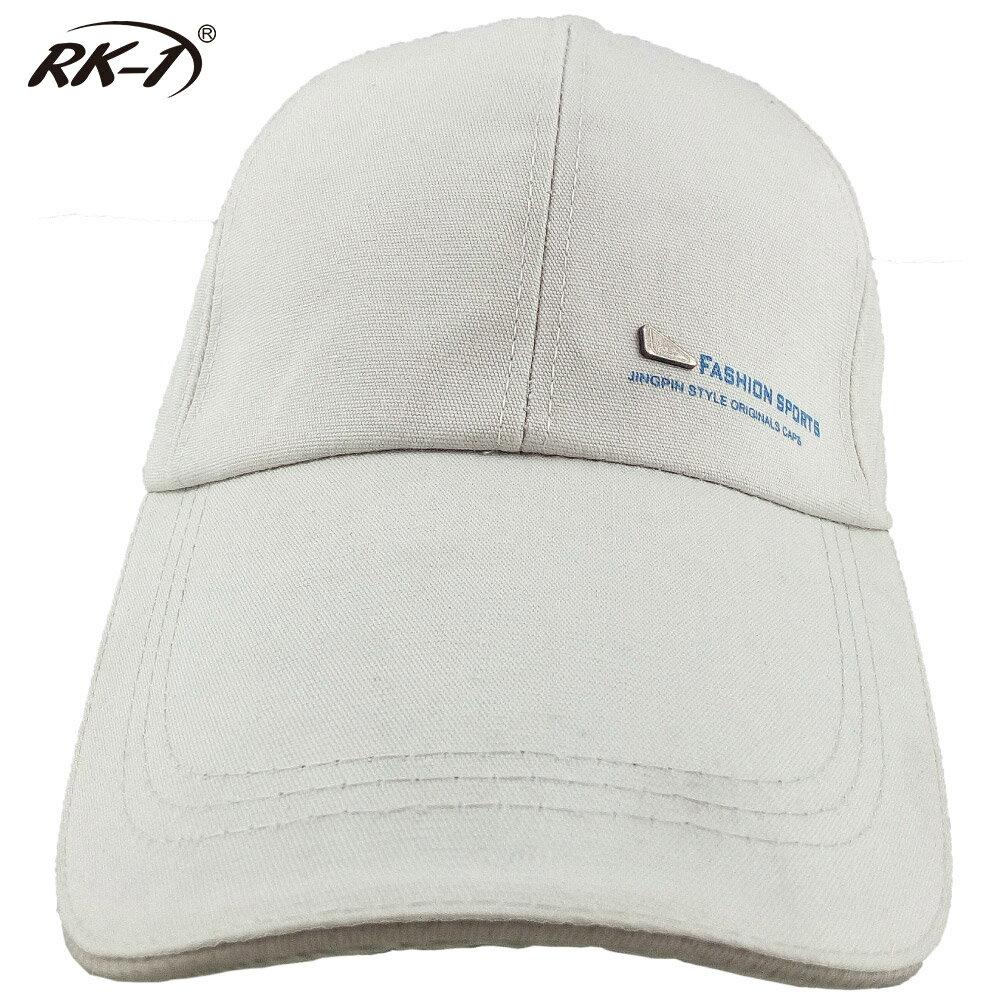 小玩子 RK-1 米白 布帽 帽子 鴨舌帽 長版型 休閒 遮陽 簡約 時尚