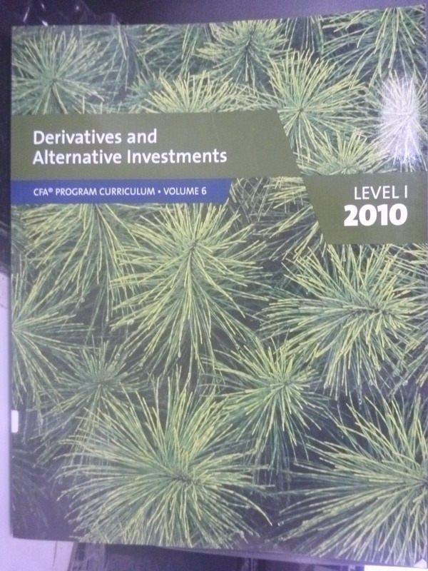 ~書寶 書T2/大學商學_XGI~Derivatives and Alternative