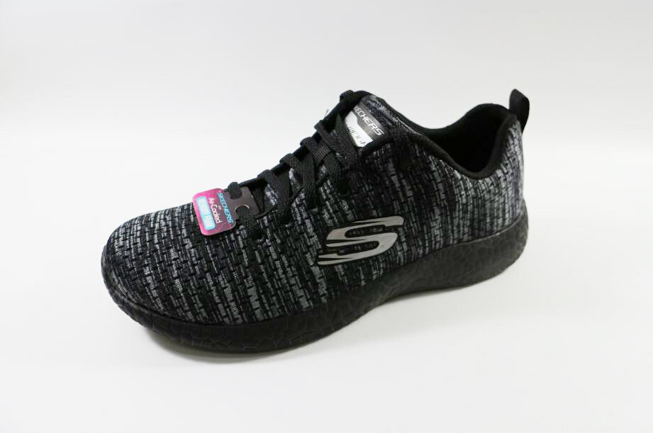 零碼 SKECHERS女款 AIR-COOLED MEMORY FOAM-12740 BKCC [陽光樂活]