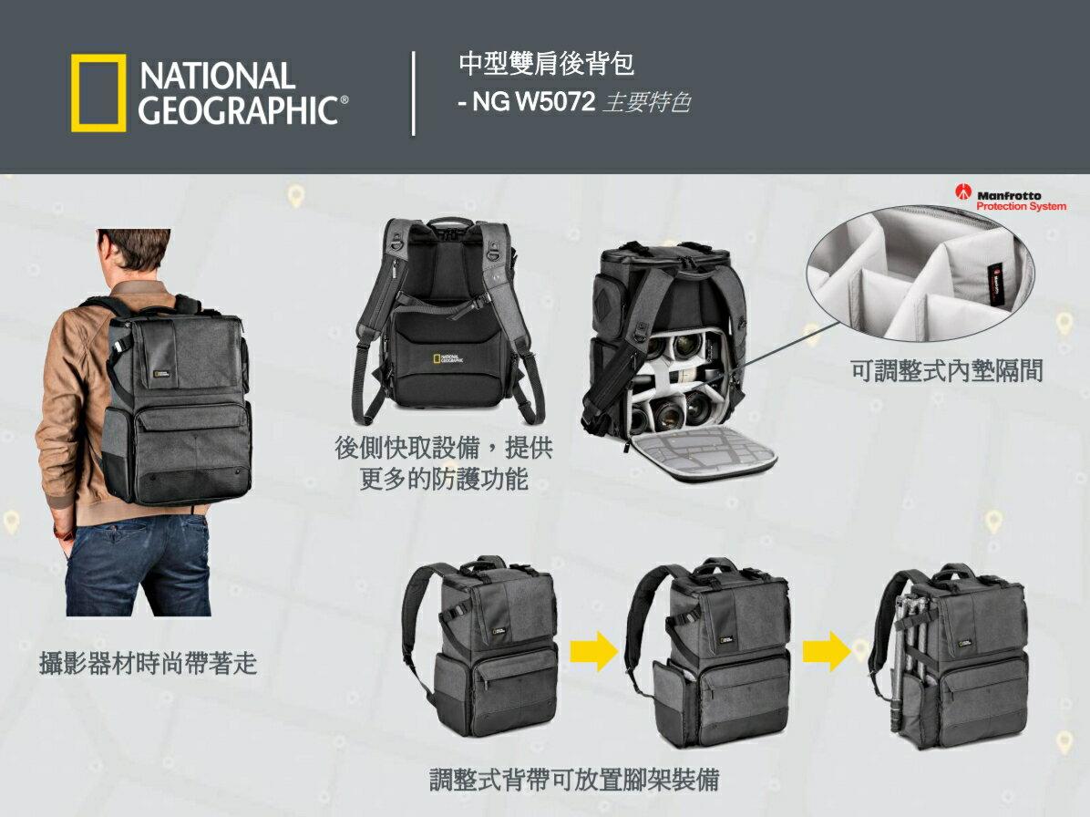 國家地理 National Geographic Walkabout NG W5072 都會潮流系列 中型雙肩後背包 正成公司貨 後背包 相機包 一機多鏡 1