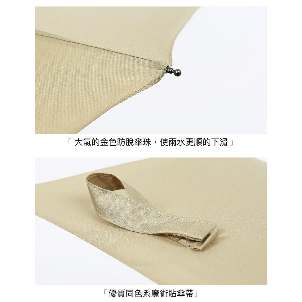 【現貨免等】復古實木手柄雨傘 自動傘 折疊傘【UBAAST23】 7