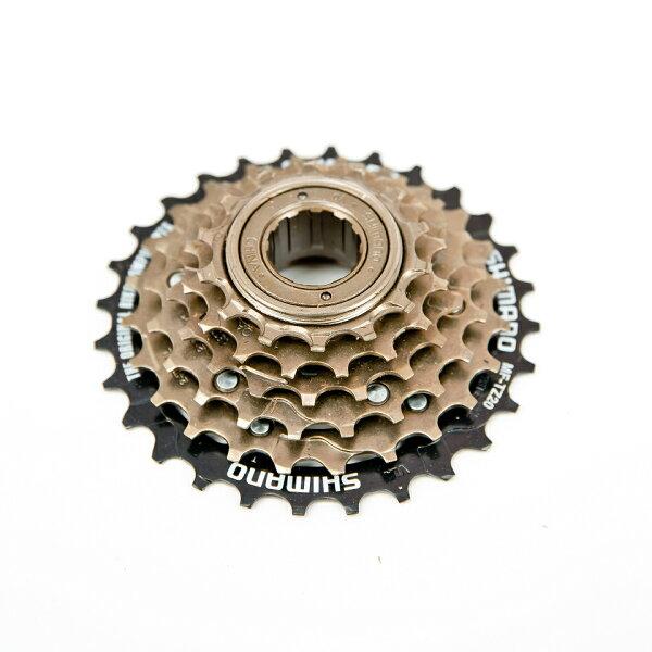 SHIMANO 六速鎖牙式 / 定位飛輪 / 鎖牙式6速定位飛輪 / 14-28T 全新《意生自行車》
