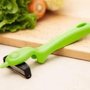 美麗大街【BF015E011】多用可旋轉刀頭削皮器 水果蘋果削皮刀 瓜果土豆刮皮刀