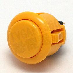 SANWA 日本三和 按鍵 按鈕 OBSF-24-Y 黃色 Joystick Parts Button【台中恐龍電玩】