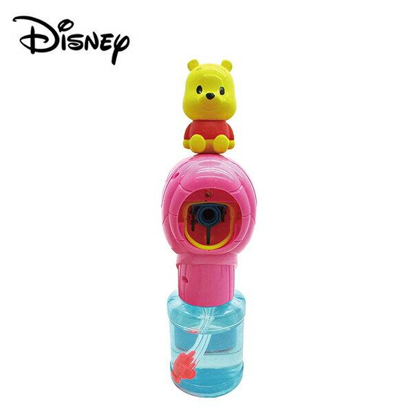 【日本正版】小熊維尼 音樂 泡泡槍 泡泡機 電動泡泡槍 Winnie 迪士尼 Disney - 067493