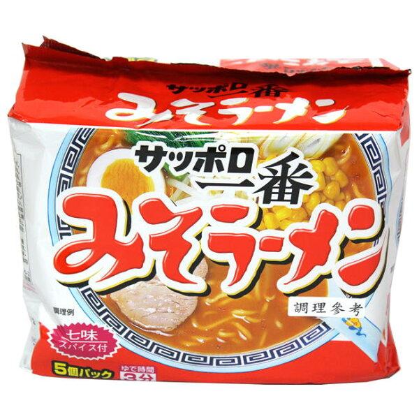 餅之鋪食品暢貨中心:一番5食拉麵-味噌味500g袋
