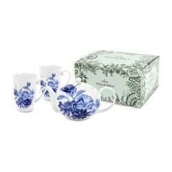 德國Weimar Tealicious一壺二杯雙人品茶禮盒(花園天堂)