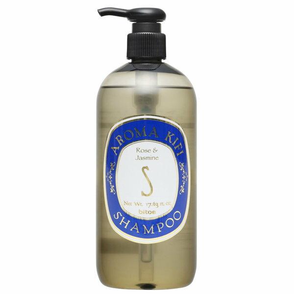 AROMA KIFI 集粹精油修護洗髮精 500ml (玫瑰茉莉香)