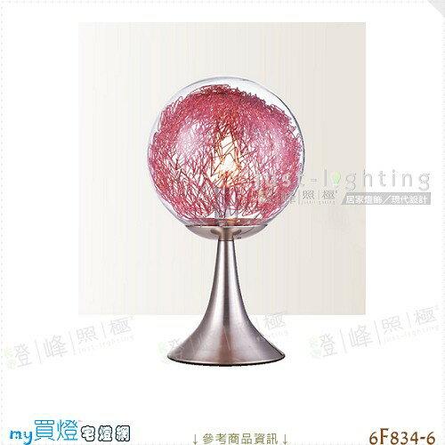 【檯燈】E27 單燈。金屬烤漆 玻璃 直徑20cm※【燈峰照極my買燈】#6F834-6