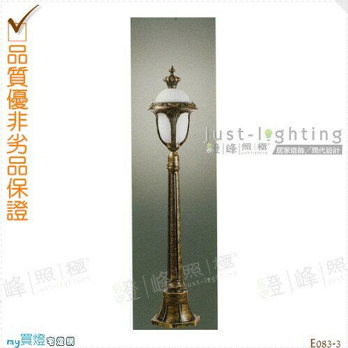 【景觀立燈】E27單燈。防雨防潮耐腐蝕。高119cm※【燈峰照極my買燈】#E083-3