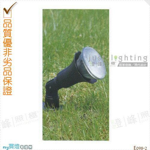 【地面投射燈】PAR38 單燈。防雨防潮耐腐蝕。高27cm※【燈峰照極my買燈】#E098-2