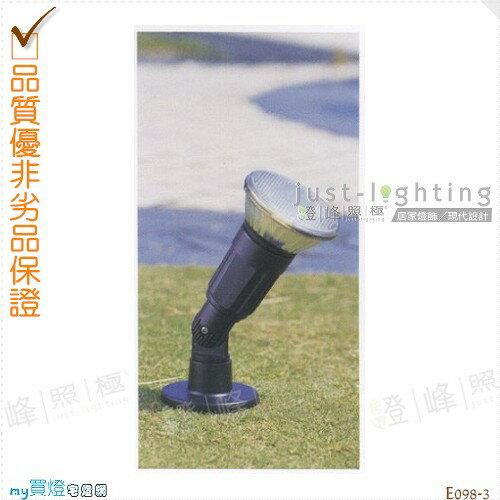 【地面投射燈】PAR38單燈。防雨防潮耐腐蝕。高27cm※【燈峰照極my買燈】#E098-3