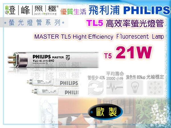 【PHILIPS飛利浦】燈管 T5.21W TL5高效率三波長省電燈管 歐洲製【燈峰照極my買燈】