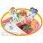 小禮堂 麵包超人 造型食物裝飾叉《L.6枝入.大臉》可重複使用 2
