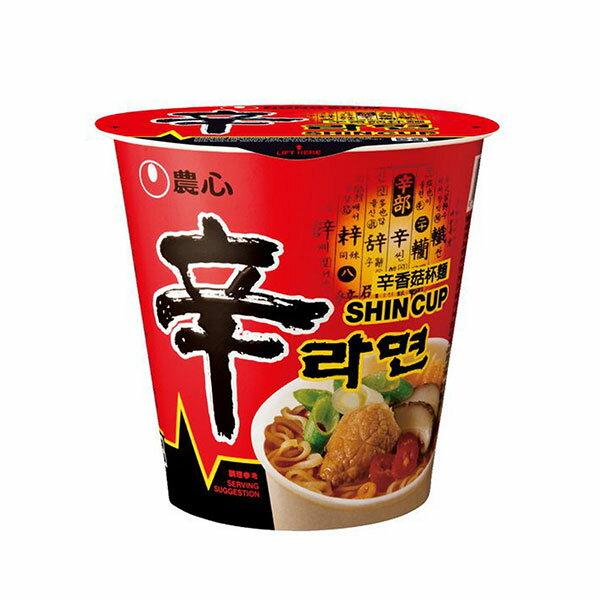 【豆嫂】韓國泡麵 農心 辛香菇味杯麵(68g)