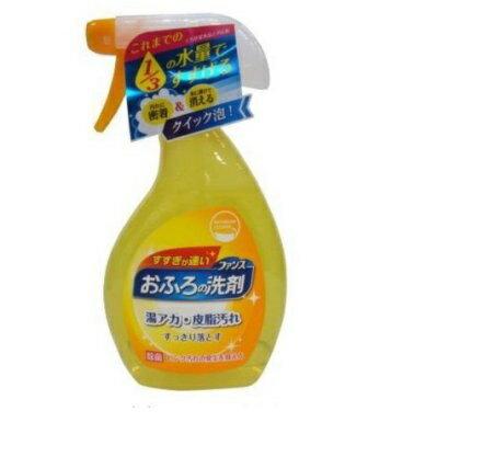 居家清潔日本第一石鹼浴室清潔噴霧去垢抑菌380ml