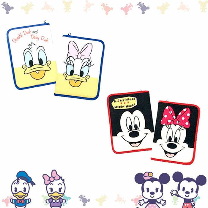Disney 迪士尼 唐老鴨 黛西 米奇 米妮 母子手帳套 媽媽手冊包 收納包 日本進口正版 859367