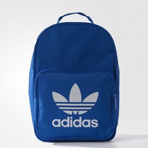 Adidas ORIGINALS TREFOIL BACKPACK 背包 後背包 雙肩 軟墊 經典 休閒 藍【運動世界】BK6722