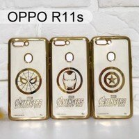 Marvel 手機殼與吊飾推薦到漫威 復仇者電鍍軟殼 OPPO R11s (6.01吋) 蜘蛛人 鋼鐵人 美國隊長【Marvel 正版】就在利奇通訊推薦Marvel 手機殼與吊飾