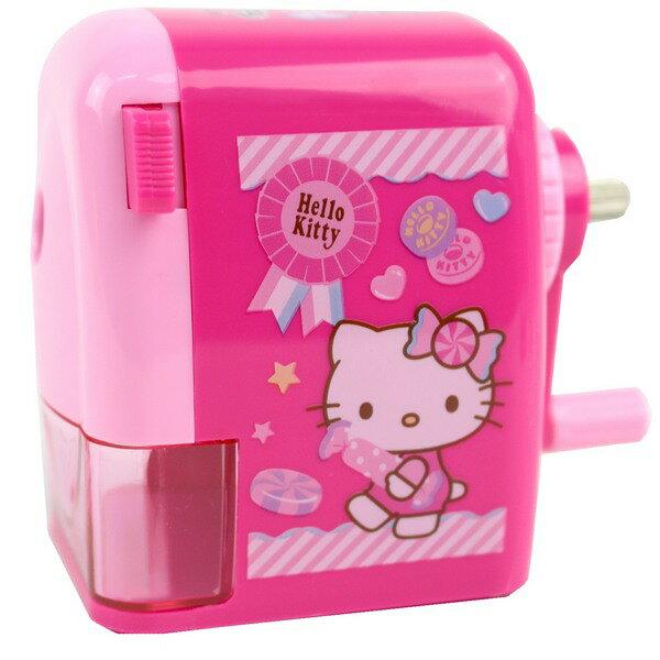 Hello Kitty 凱蒂貓大小通吃削筆機 196171/一台入{促360} KT可調式削鉛筆機~佳30248335.豪