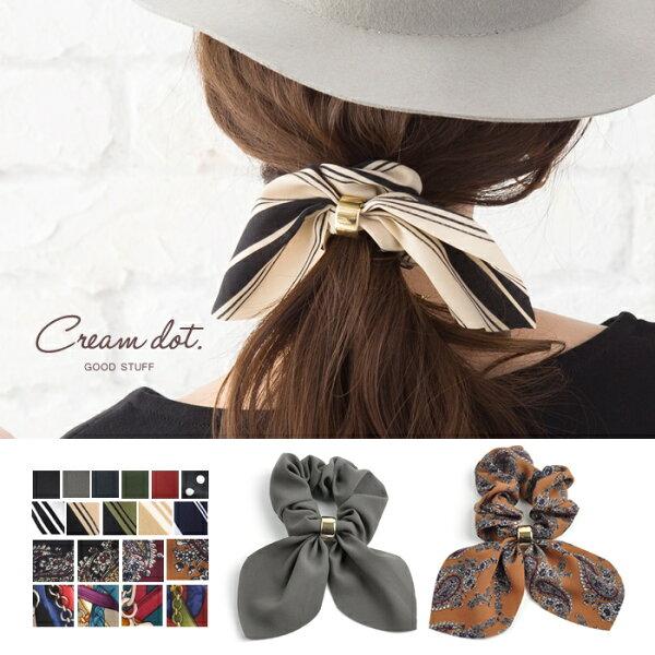 日本必買免運代購-日本CREAMDOT優雅淑女髮圈a01849。共18色
