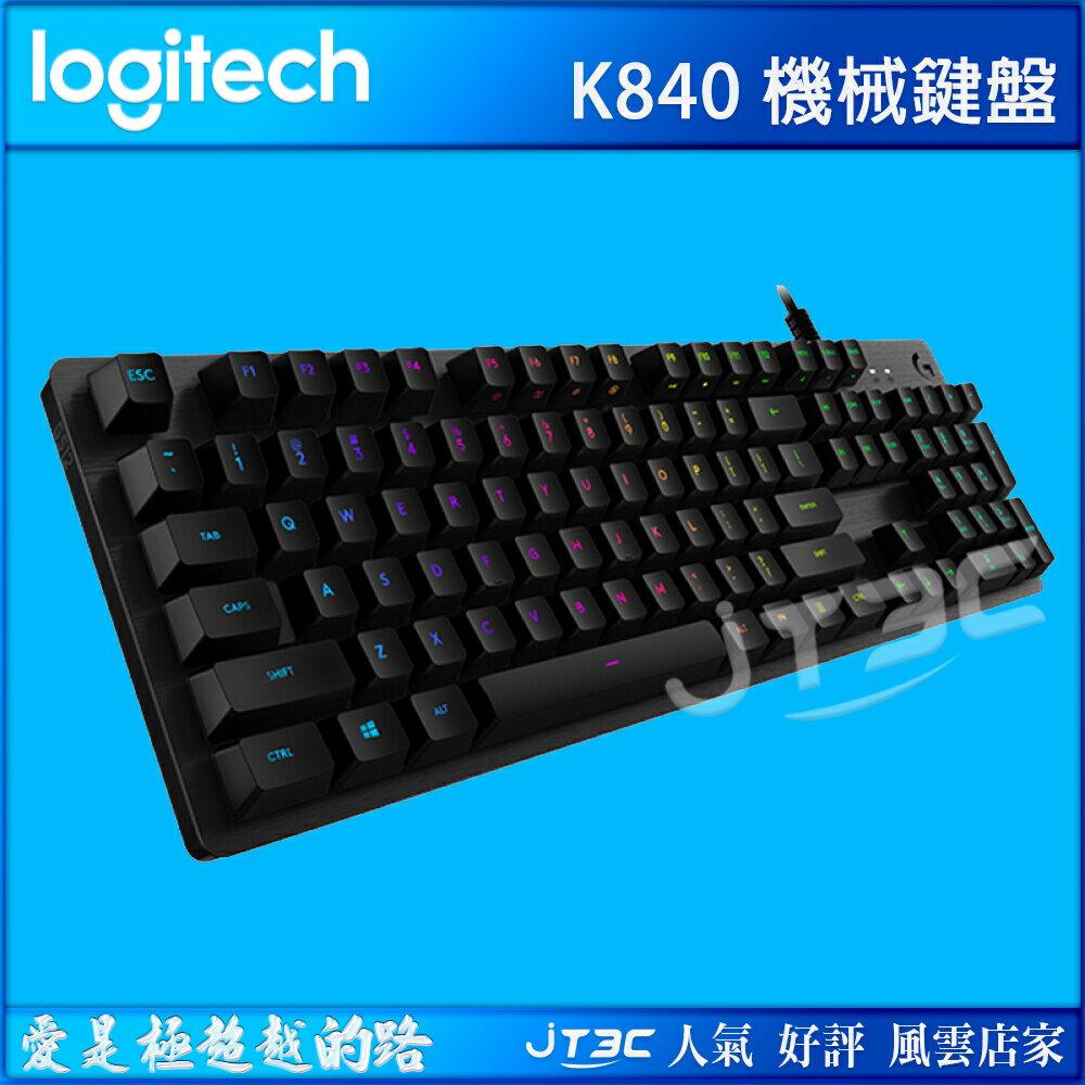 Logitech 羅技 K840 機械有線鍵盤 繁體中文版 - 限時優惠好康折扣