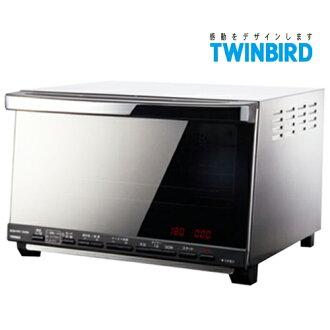 【送強化餐具五件組】日本 TWINBIRD 雙鳥 油切氣炸烤箱 TS-D067TW