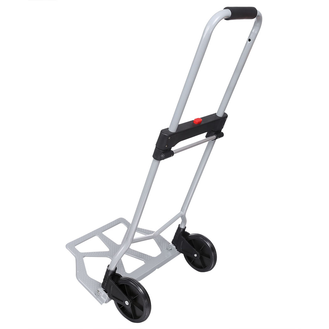 Industrial Folding Hand Truck Dolly 275 lb Capacity Silver 5
