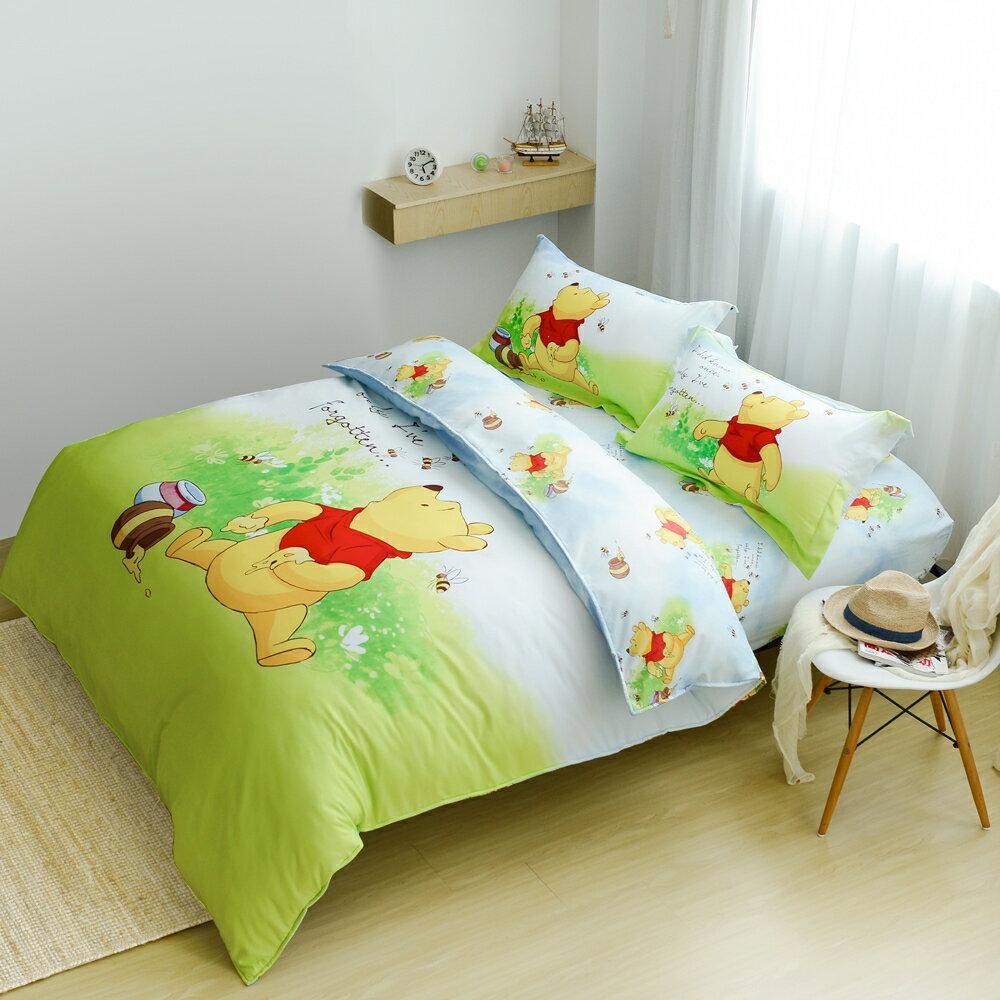 【小熊維尼】迪士尼卡通床包兩用被套組