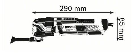 德國BOSCH 博世 GOP 55-36 插電多功能魔切機 單機版 磨切機 切割機完勝GOP30-28 含保固 1