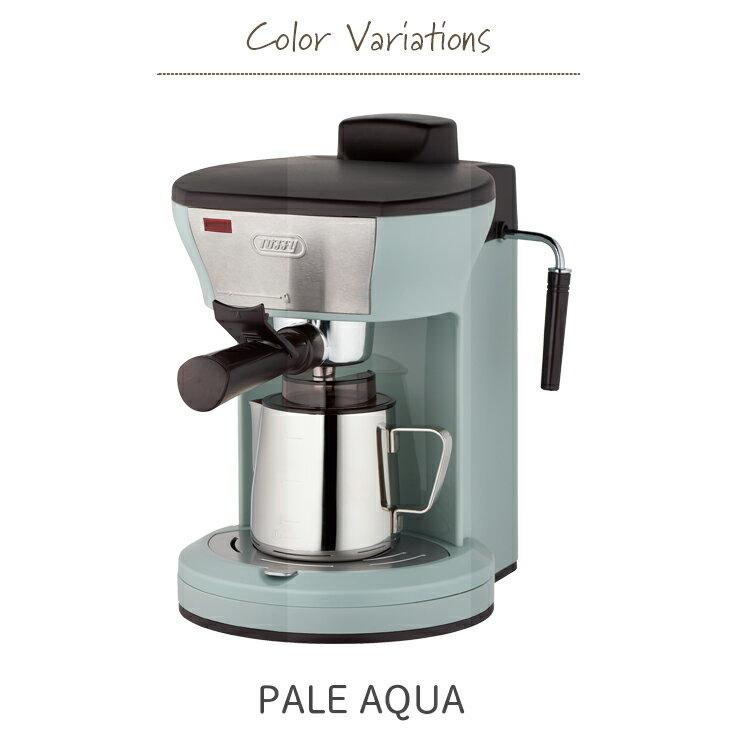 日本Toffy / K-CM3 / 復古造型咖啡機 / 義式咖啡機 / 加熱蒸氣孔 / 奶泡 / 4杯量 / 馬卡龍家電 / K-CM3。2色-日本必買  / 日本樂天代購 (8460*2) 2