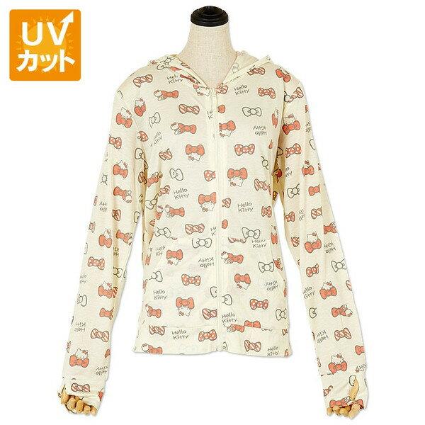 【真愛日本】16033100020多功機能外套-KT多結米黃   三麗鷗 Hello Kitty 凱蒂貓 衣服 外套  正品 防曬