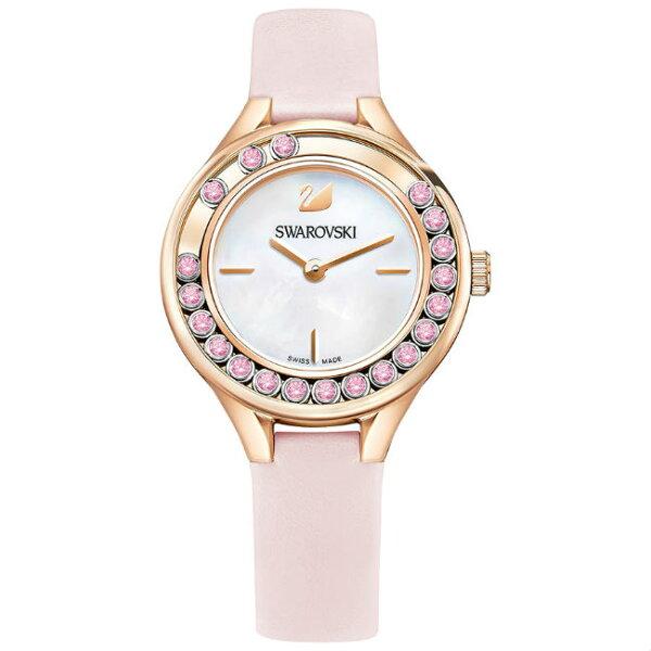 Swarovski施華洛世奇LovelyCrystalsMini5376089飄鑽魅力腕錶31mm